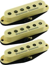 Seymour Duncan SSL-1 Vintage Alnico 5 Calibrated 3 Pickup Strat Set,  Cream, NEW