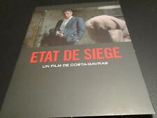 "DVD DIGIPACK NEUF ""ETAT DE SIEGE"" Yves MONTAND, Jacques WEBER / COSTA GAVRAS"