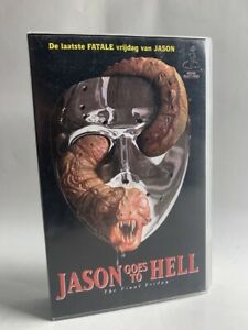 Friday the 13th JASON GOES TO HELL Rare OOP Dutch VHS Video horror slasher