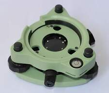Green Three-Jaw Tribrach With Optical Plummet For Leica/Trimble/Topcon/Sokk ia