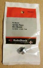 NEW! RadioShack 12VDC Piezo Mini Buzzer 2730074 *FREE SHIPPING*