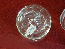 Anna Hutte 24% lead crystal jelly container (Sh)
