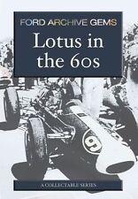 Lotus in the 60s (New DVD) Ford Archive Gems Jim Clarke Monaco Grand Prix etc