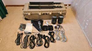 !!! Studio Dream - Elinchrom D-Lite 4 kit, Skyport, Pelican 1740 case, etc. !!!
