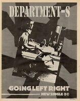 Department-S '45 advert 1981