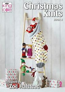King Cole Pattern Book - Christmas Knits Book 8