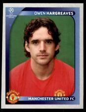 Panini Champions League 2008-2009 - Manchester United Owen Hargreaves No.16