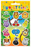 24 Jungle Animal Sticker Sheets - Pinata Toy Loot/Party Bag Fillers Wedding/Kids