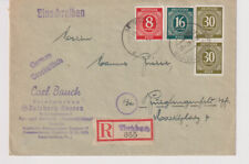 Gemeinsch.Ausg. Mi. 928 u.a.,, Not-R-Butzbach, 10.1.47