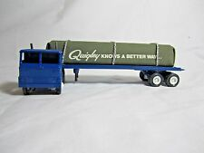 Winross 1981 QUIGLEY FLATBED w/ Fabricated Load