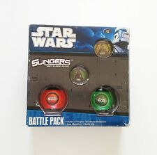 Star Wars Slingers Battle Pack ¡Completo! (Fast Slingin' Action) (Juego de Mesa)