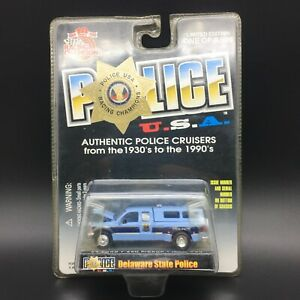 Racing Champions Delaware State Police USA 1999 '99 Ford F-350 Pickup Truck 1/64