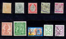 MALTA 10 Stamps 1885 to 1957 Lot Used
