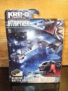 Star Trek Klingon D7 Battle Cruiser Building Block Toy.