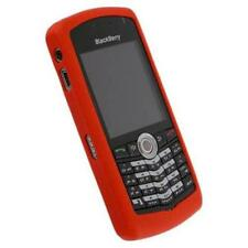 RED SILICONE CASE SKIN COVER for Blackberry Pearl 8100 8120 8130