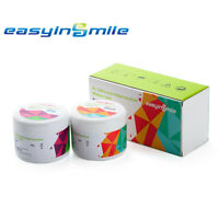 2X400g EASYINSMILE Dental Silicone Impression Material Putty With 2 Spoons USA
