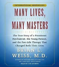New 2 CD Many Lives, Many Masters Brian Weiss
