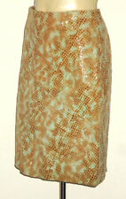 Knee-Length Animal Print Dry-clean Only Skirts for Women