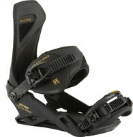 Nitro Team Pro Snowboard Bindings Medium (US Men's 7-10.5) Goldy Black New 2021