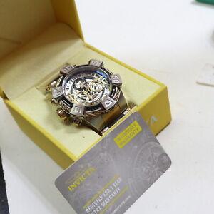 Invicta Shag Chronograph Herrenuhr, Quartz, 100m, 52mm = 327g               39/3