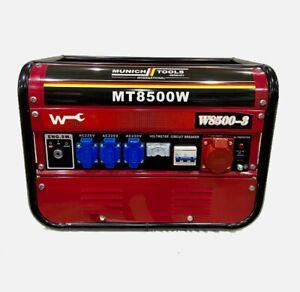 Benzin Generator MT8500W Stromgenerator Notstromerzeuger Benzin Stromerzeuger✅✅