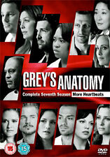GREYS ANATOMY - SEASON 7 - DVD - REGION 2 UK