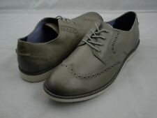 Sperry Top-Sider Newman Wingtip Oxford Shoes Men's Size 9 Gray Grey Leather
