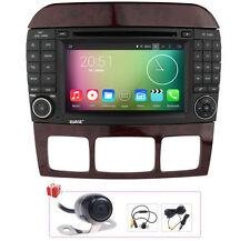 Camera+Map Android 5.1 Autoradio DVD GPS Satnav For Mercedes Benz S500 S320 S430