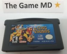 Lost Vikings (Nintendo Game Boy Advance, 2003) Cleaned Tested Working