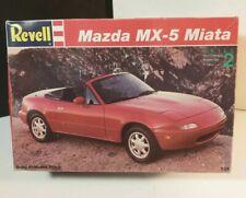 REVELL 1993 Mazda MX-5 Miata 1/24 Scale Model NOS Sports Car Kit OPEN BOX Rare
