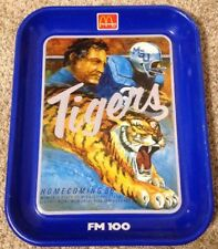 Homecoming 1986 Memphis State vs Mississippi State Liberty Bowl Metal Food Tray