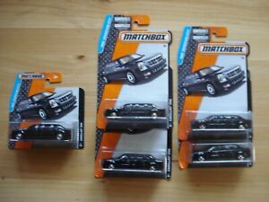 Matchbox 2016 Cadillac One Lot of 5
