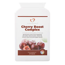 Cherry Boost Complex - 60 Capsules - Montmorency Cherry Food Supplement