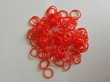 Petits élastiques à cheveux fin rouge - 1.5cm - lot de 120 - ELAS40