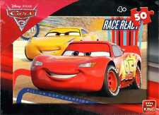 CHILDREN KIDS (4+) 50 PIECE DISNEY CARS 3 LIGHTNING MCQUEEN JIGSAW PUZZLE 05288A