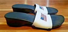Womens VEGAN Onesole Interchangeable American Flag Shoes Size 10 US