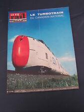 Vie du rail 1969 1175 MALESHERBES PITHIVIERS éTAPLE ALLOT NOAILLES CAYEUX NANTES
