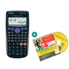 Casio FX 82 DE Plus Taschenrechner + MatheFritz Lern-CD (Deutsch)