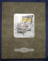 Die Intertype in Wort und Bild um 1920 Setzmachine Industrie Wirtschaft sf