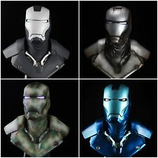 Custom Made Painted Life Size 1/1 Scale Iron Man MK3 Bust