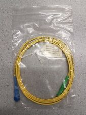 2Mtr E2000/APC-SC/PC 3mm Fibre Optic PatchCord OS1 G652 Singlemode Simplex LSZH