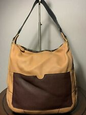 OrYany Carry-all Large Camel Brown Leather Hobo tote Shoulder Purse Bag