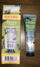 Burts Bees Rosemary & Lemon Hand Cream With Shea Butter 1 Oz 99% Natural