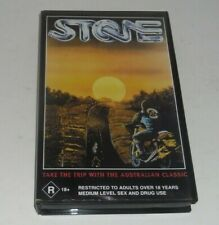 STONE 1974 Ozploitation 70's Bike Gang Australia Cult Hedon Pro Video PAL VHS