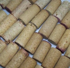 BLANK Natural USED Wine Corks Unprinted Craft Lot of 5 10 30 40 50 Recycled