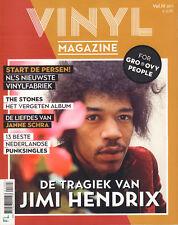 VINYL MAGAZINE 2017 Vol. 3 - JIMI HENDRIX(COVER)/ROLLING STONES/RONALD SNIJDERS