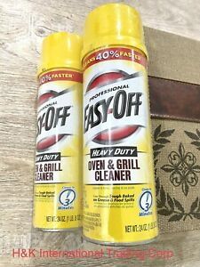 2 Pack 24 oz Easy-Off Oven & Grill Cleaner - Heavy Duty Professional - Brand New