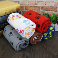 Blanket Bed for Dogs Large Soft Grey Baby Dog Cat Fleece Blankets Throw Washable