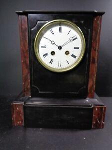 Vintage Striking Marble Slate Mantel Clock over 10kg