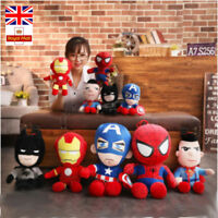 Justice League Plush Toys Superman Batman Soft The Captain America Iron Man Doll